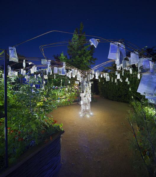 Festival des Jardins de Chaumont sur Loire - 2012 - Philips Eclairages